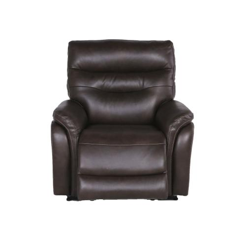 Fortuna Dual-Power Leather Recliner, Coffee