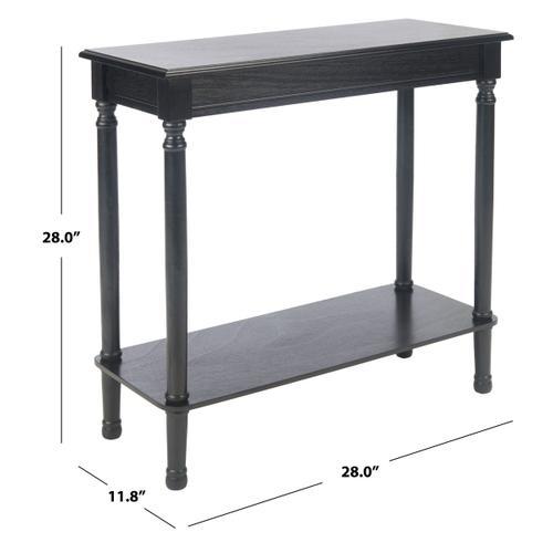 Safavieh - Tinsley Rectangular Console Table - Black