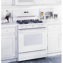 "GE Profile 30"" Spectra Free-Standing Gas Range with Warming Drawer"