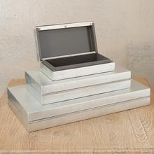 Nouveau Luxe Box-Silver Leaf-Med
