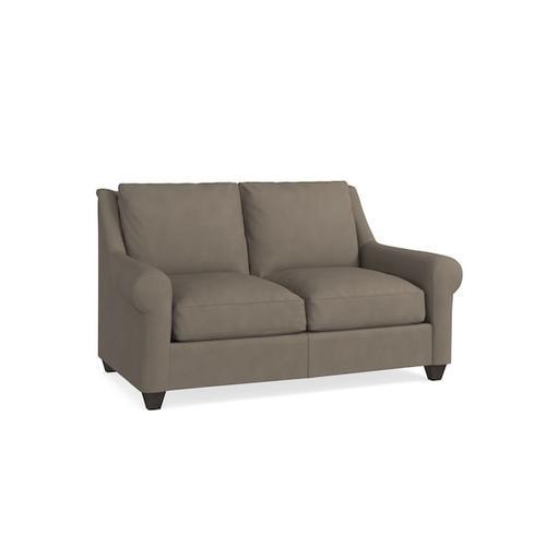 Bassett Furniture - Ellery Leather Loveseat