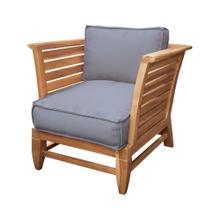 See Details - Teak Slat Patio Chair in Euro Teak Oil