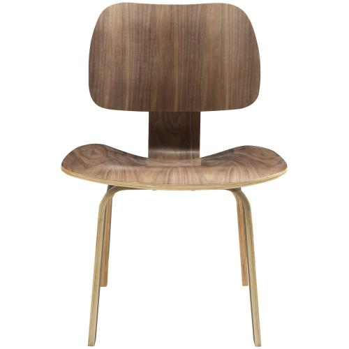 Fathom Dining Wood Side Chair in Walnut
