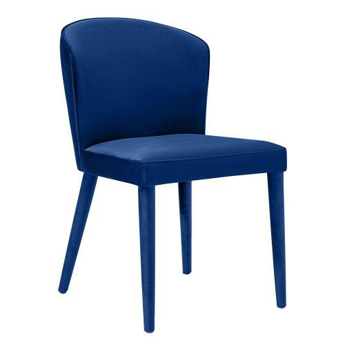 Metropolitan Navy Velvet Chair