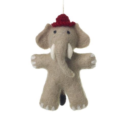 "5.5"" Grey Endangered Friends Ornaments (Elephant Option)"