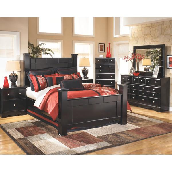 Shay King Poster Bed