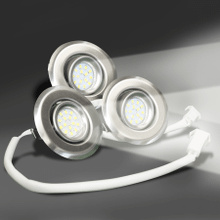 Set of Three(3) 3 Watt - LED Lights