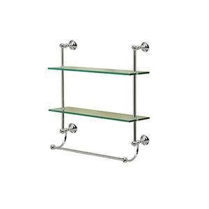 Kingston Two Tier Shelf With Towel Bar