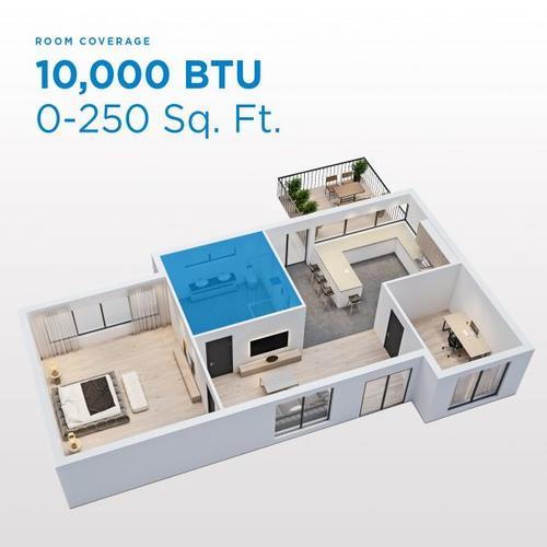 Gallery - Danby 10,000 BTU (5,800 SACC) 3-in-1 Portable Air Conditioner