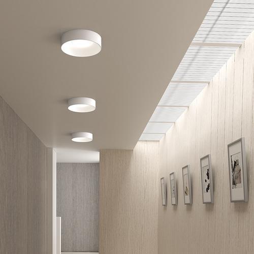 "Sonneman - A Way of Light - Ilios LED Surface Mount [Size=14"", Color/Finish=Satin White]"