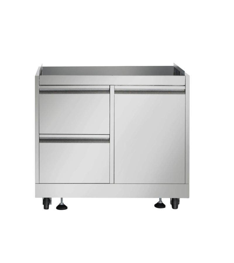 Thor KitchenOutdoor Kitchen Bbq Grill Cabinet In Stainless Steel