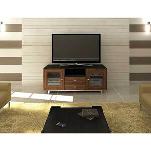 """Sanus - Natural Walnut AV Stand For TVs up to 70"""" and 150 lbs / 68 kg"""