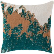 See Details - New Vista Pillow, TEAL, 18X18