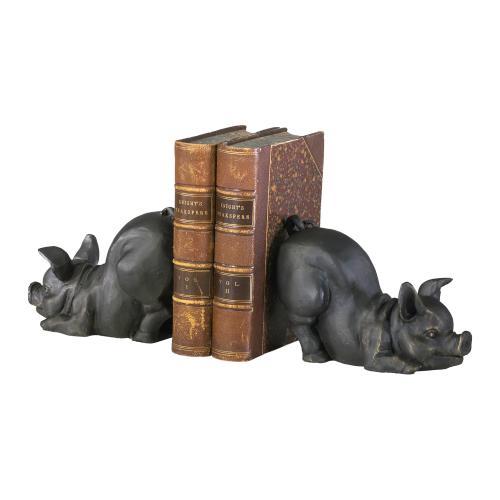 Cyan Designs - Piggy Bookends 2pcs.