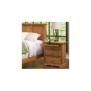 3-Drawer Nightstand Right