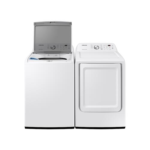 7.2 cu. ft. Gas Dryer with Sensor Dry in White