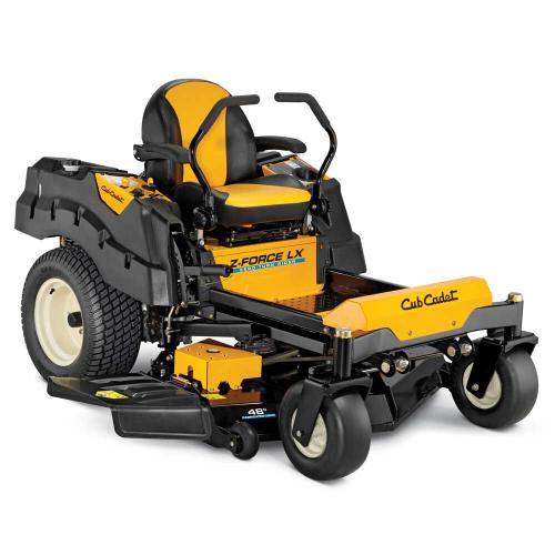 Z-Force LX48 Cub Cadet Zero Turn Mower
