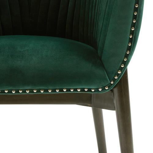 Channel Back Emerald Club Chair