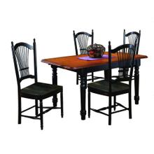 DLU-TLB3660-C07-AB5PC  5 Piece Butterfly Dining Set  Allenridge Chairs
