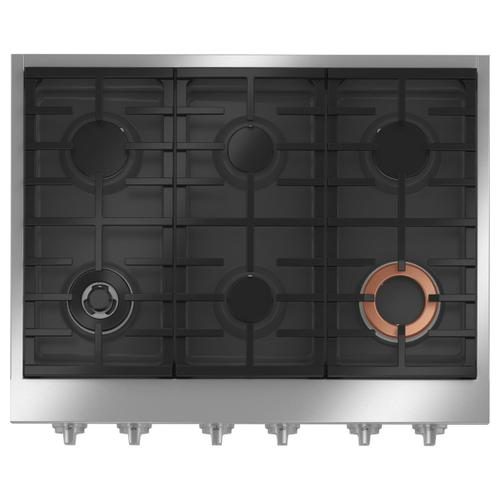 "Café 36"" Commercial-Style Gas Rangetop with 6 Burners (Natural Gas)"