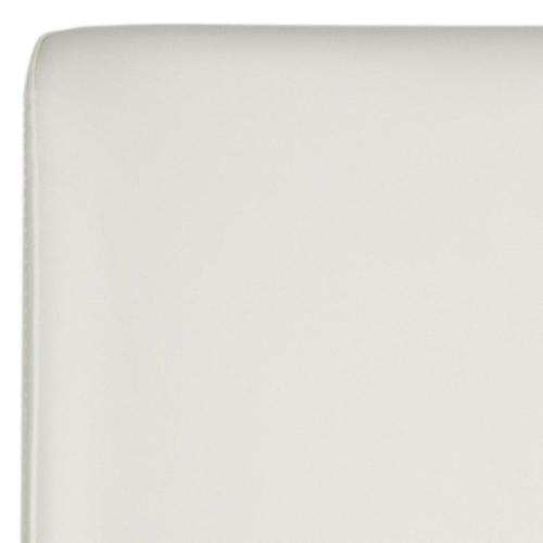Garretson 18'' Leather Side Chair - White