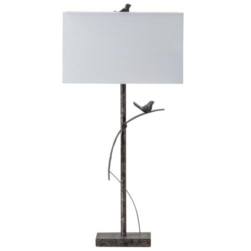 Crestview Collections - Cleo Simplistic Metal Table Lamp