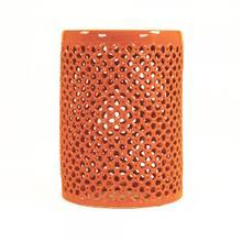 See Details - Lanie Garden Stool Orange