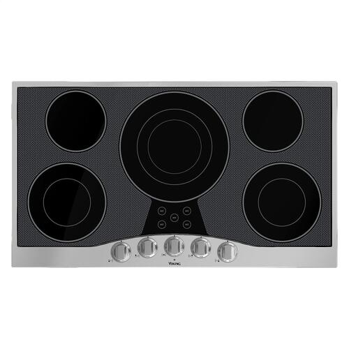 """36"""" Electric Cooktop - RVEC Viking Product Line"""