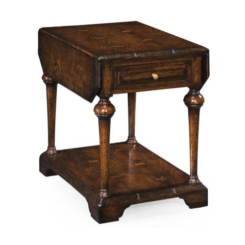 Elizabethan dark oak pembroke table
