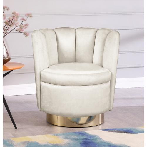 "Lily Velvet Accent Chair - 30"" W x 27"" D x 31"" H"