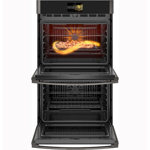 """GE Profile - GE Profile™ 30"""" Smart Built-In Convection Double Wall Oven with No Preheat Air Fry and Precision Cooking"""