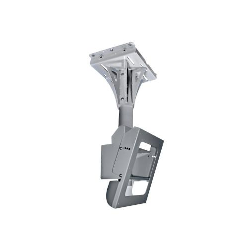 Indoor/Outdoor Tilting Concrete Ceiling Mount For Protective Enclosures (FPE42(H)-S, FPE47(H)-S & FPE55(H)-S) - Silver / 1-ft