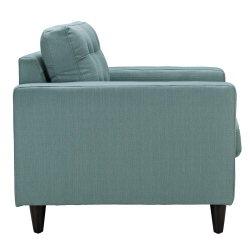 Modway - Empress Armchair Upholstered Fabric Set of 2 in Laguna
