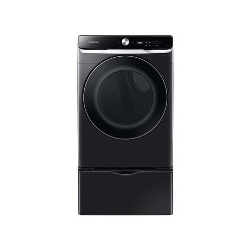 Gallery - 7.5 cu. ft. Smart Dial Gas Dryer with Super Speed Dry in Brushed Black