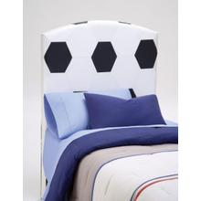 See Details - PU Youth Twin Headboard - Soccer