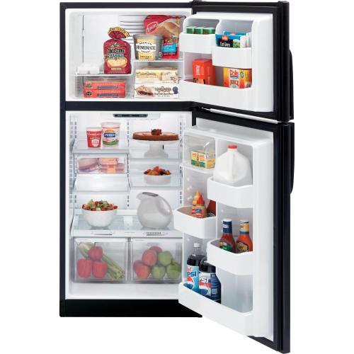 GE® ENERGY STAR® 18.22 Cu. Ft. Top-Freezer Refrigerator