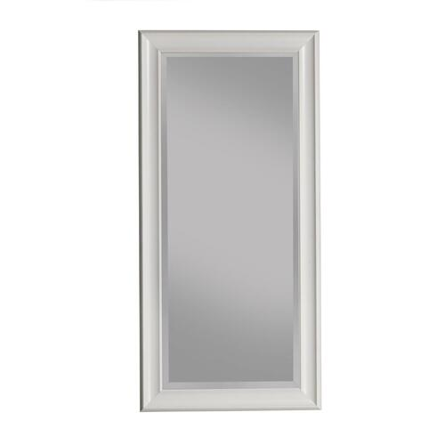 Frost White Full Length Leaner Mirror - Frost White