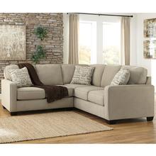 See Details - Signature Design by Ashley Alenya 2-Piece Sofa Sectional in Quartz Microfiber [FSD-1669SEC-2PC-QTZ-GG]