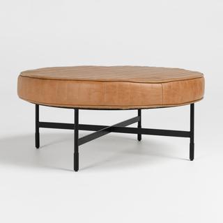 See Details - Lionel 36\u0022 Ottoman Chestnut