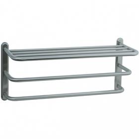 Highlands - Three Tier Towel Shelf - Polished Nickel