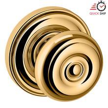 See Details - Lifetime Polished Brass 5005 Estate Knob with 5048 Rose
