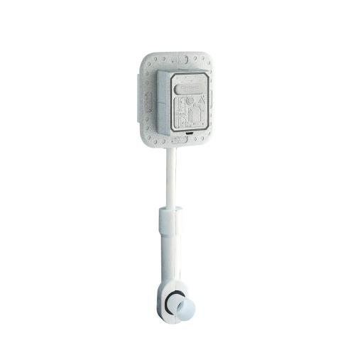 Product Image - Rondo Wall Carrier Toilet Flush Valve
