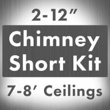 ZLINE Short Kit for Ceilings Under 8 feet ISLAND (SK-597i)