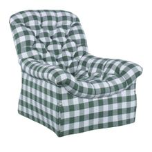 Rowen Tufted Skirted Chair