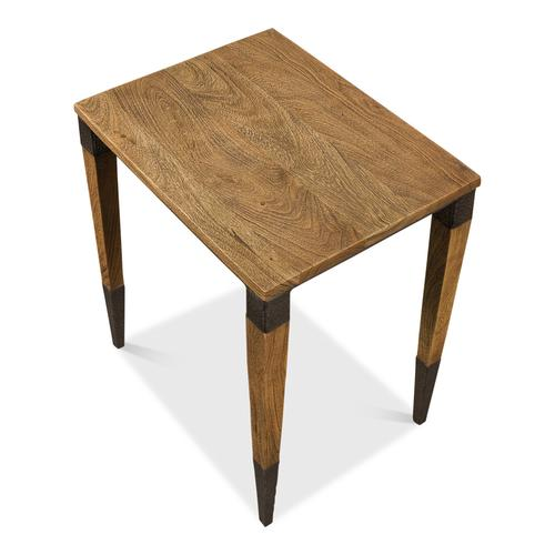 Saber Leg Chairside Table, Square