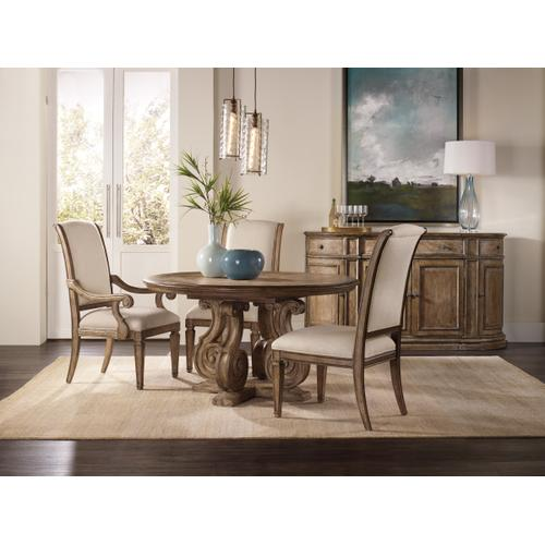 Solana Upholstered Arm Chair - 2 per carton/price ea