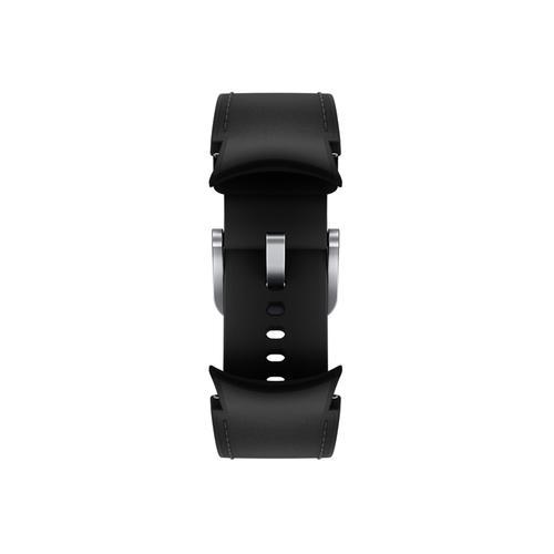 Samsung - Galaxy Watch4, Galaxy Watch4 Classic Hybrid Leather Band, S/M, Black