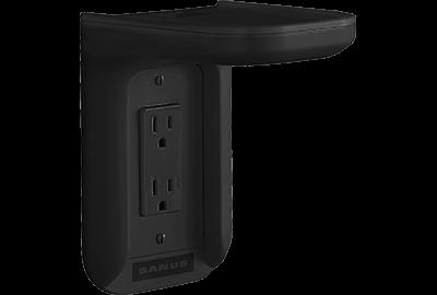 Black- Sanus Outlet Shelf