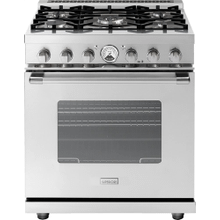 "Range LA CUCINA 30"" Classic Stainless steel 5 gas, gas oven"