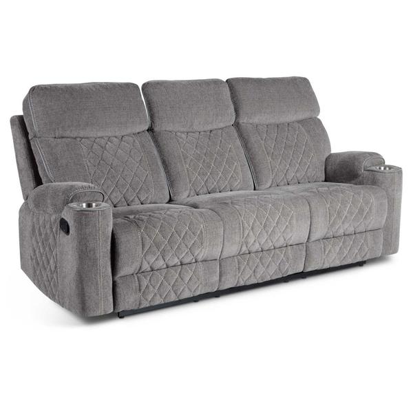 Crawford Manual Motion Sofa